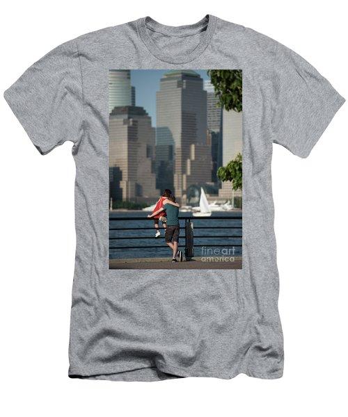 Tourists Men's T-Shirt (Slim Fit) by Nicki McManus