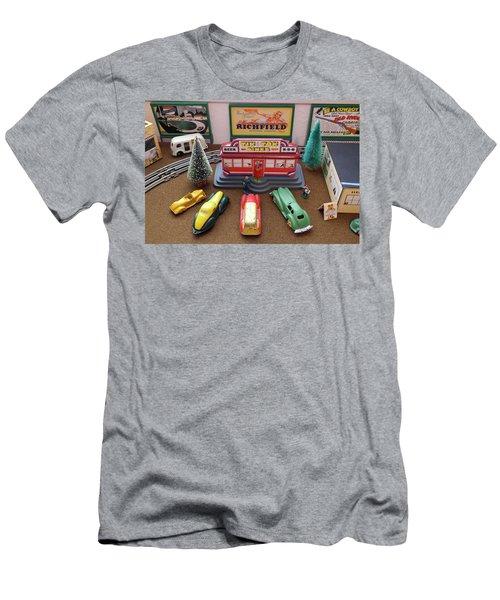 Toytown - Tik Tok Diner Men's T-Shirt (Athletic Fit)