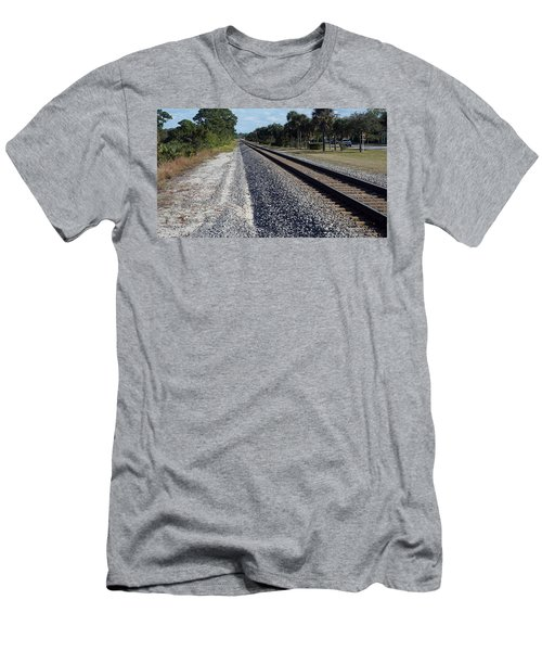 Tracks Hobe Sound, Fl Men's T-Shirt (Athletic Fit)