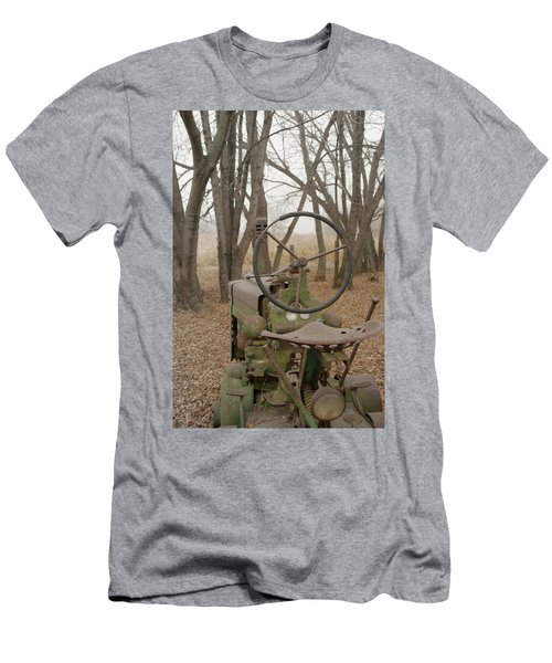 Tractor Morning Men's T-Shirt (Athletic Fit)