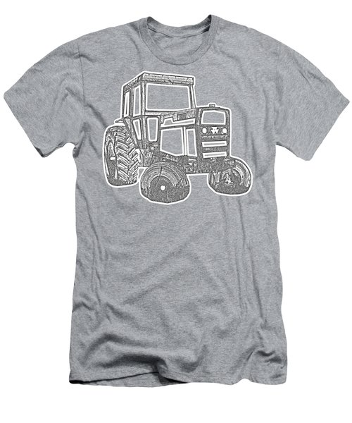 Tractor Transparent Men's T-Shirt (Athletic Fit)