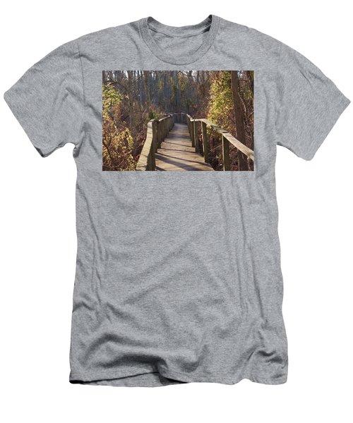 Trail Bridge Men's T-Shirt (Athletic Fit)