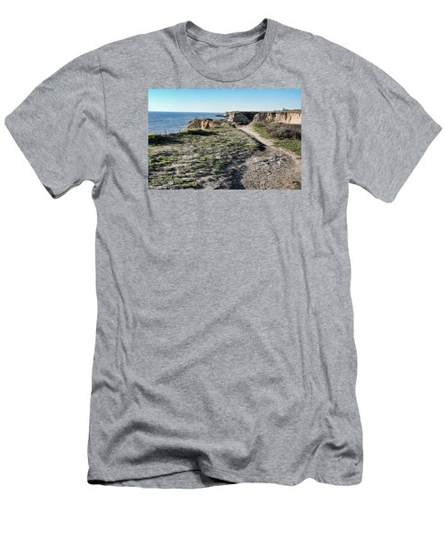 Trail On The Cliffs Men's T-Shirt (Athletic Fit)