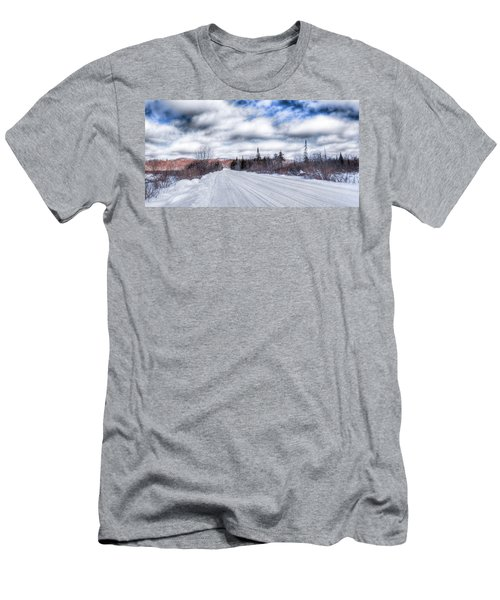 Trail One In Old Forge 2 Men's T-Shirt (Athletic Fit)