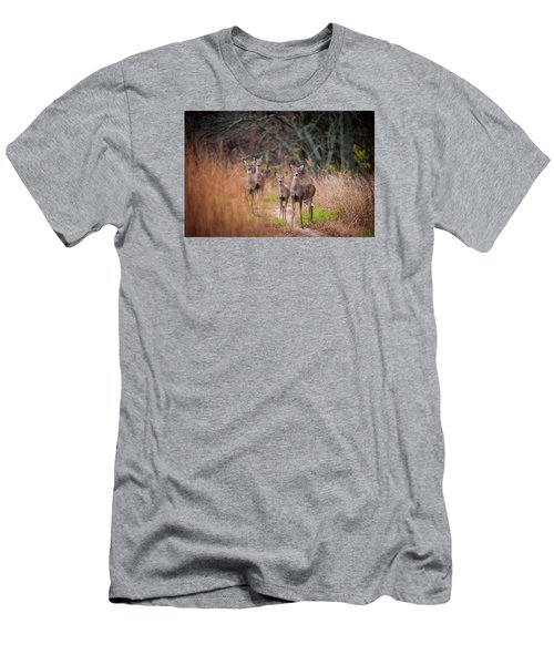 Trail Watchers Men's T-Shirt (Athletic Fit)