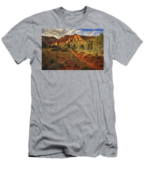 Trailing Along Txt Men's T-Shirt (Athletic Fit)