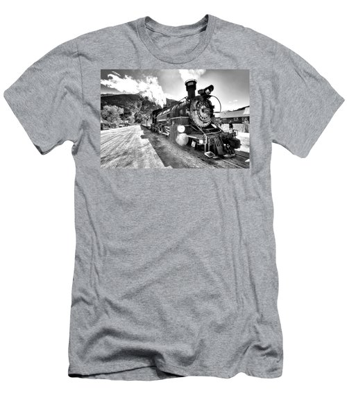 Train Nin Silverton Colorado Men's T-Shirt (Athletic Fit)