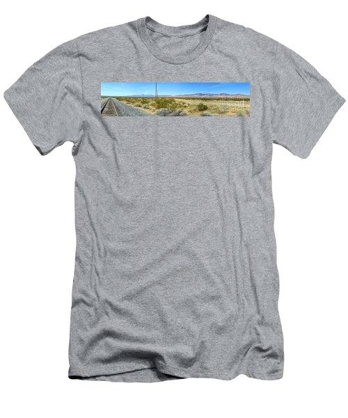 Train To Tehachapi Men's T-Shirt (Athletic Fit)