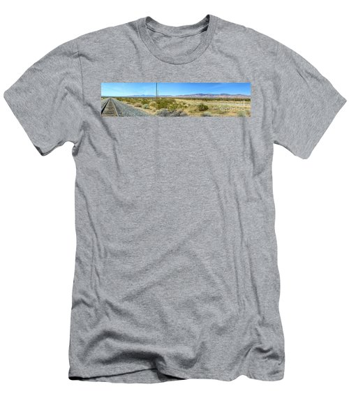 Train To Tehachapi Men's T-Shirt (Athletic Fit)