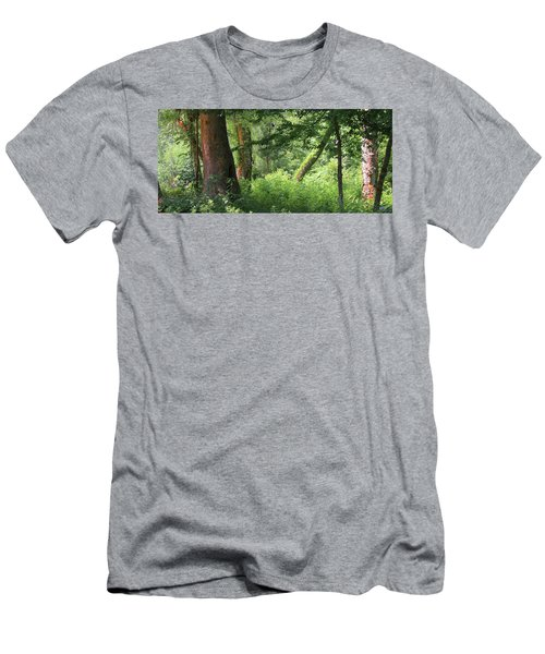 Tranquility Men's T-Shirt (Slim Fit) by Roena King
