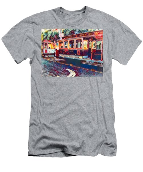 Travel San Fran Style Men's T-Shirt (Athletic Fit)