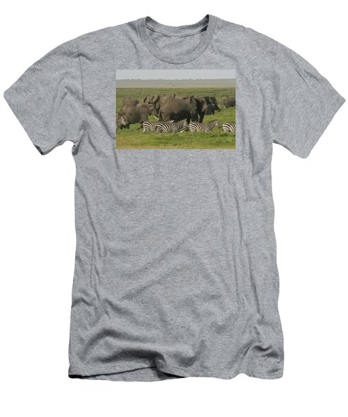 Men's T-Shirt (Slim Fit) featuring the photograph Travelling Companions by Gary Hall