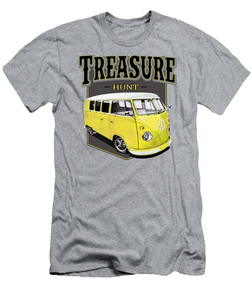 Treasure Hunt Bus Men's T-Shirt (Athletic Fit)