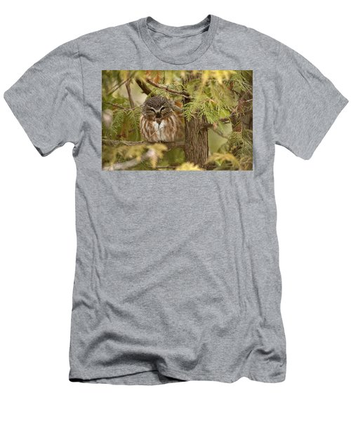 Men's T-Shirt (Slim Fit) featuring the photograph Treasures Of The Forest by Everet Regal
