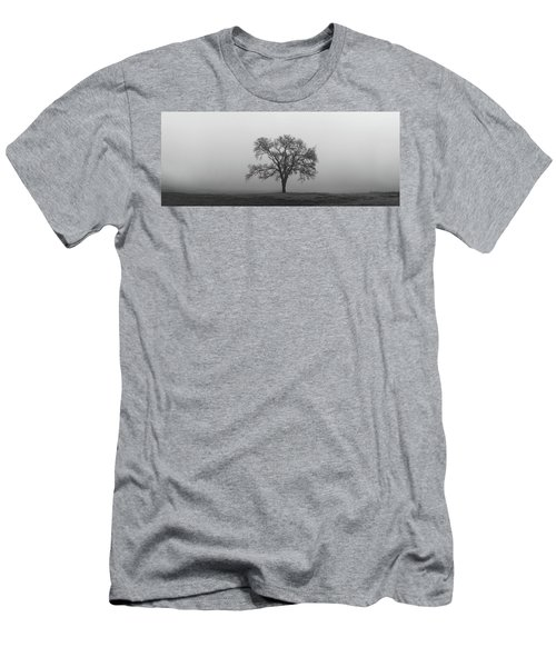 Tree Alone In The Fog Men's T-Shirt (Athletic Fit)