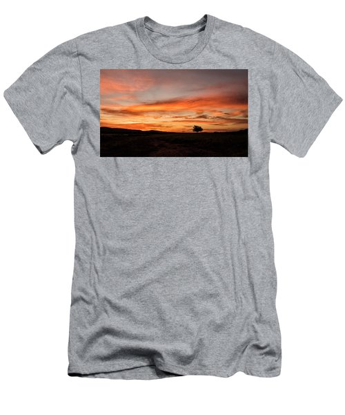 Tree At Sunrise Men's T-Shirt (Athletic Fit)