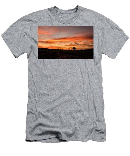 Tree At Sunrise Men's T-Shirt (Athletic Fit)