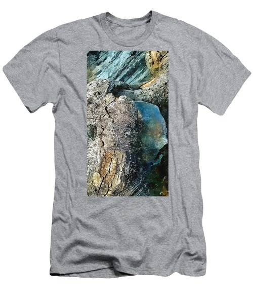 Tree Beats Rock Men's T-Shirt (Athletic Fit)