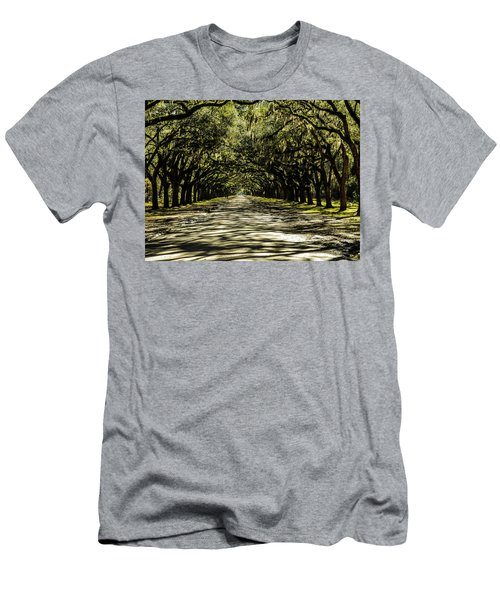 Tree Covered Approach Men's T-Shirt (Athletic Fit)