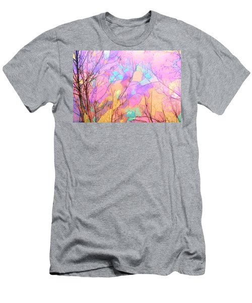 Men's T-Shirt (Slim Fit) featuring the photograph Tree Dance by Kathy Bassett