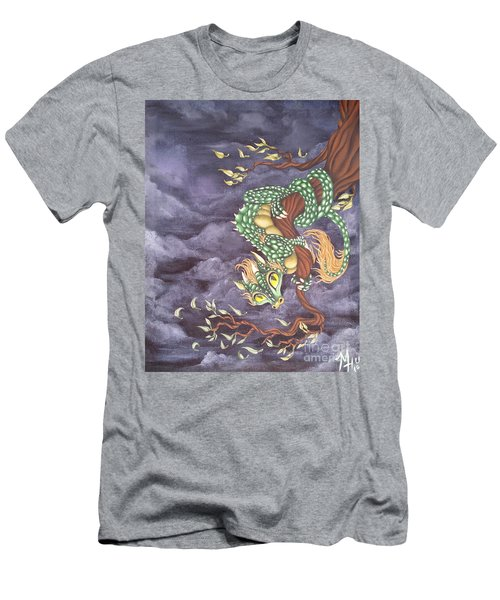 Tree Dragon Men's T-Shirt (Athletic Fit)