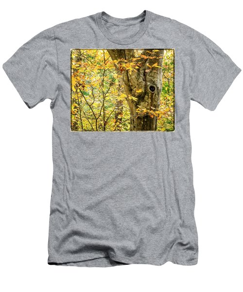 Tree Hollow Men's T-Shirt (Athletic Fit)