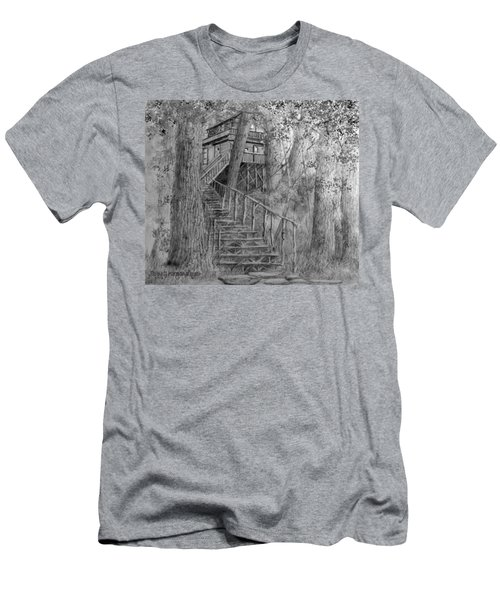 Tree House #1 Men's T-Shirt (Athletic Fit)