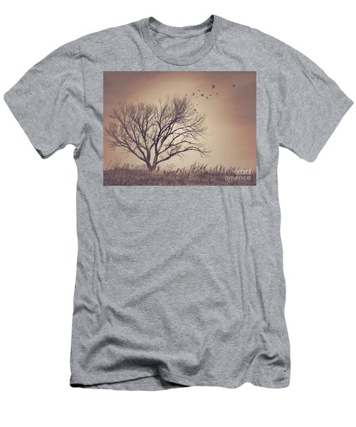 Men's T-Shirt (Slim Fit) featuring the photograph Tree by Juli Scalzi