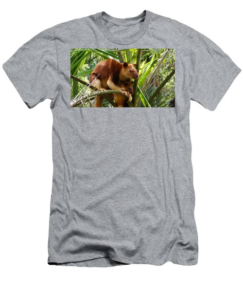 Tree Kangaroo 1 Men's T-Shirt (Athletic Fit)