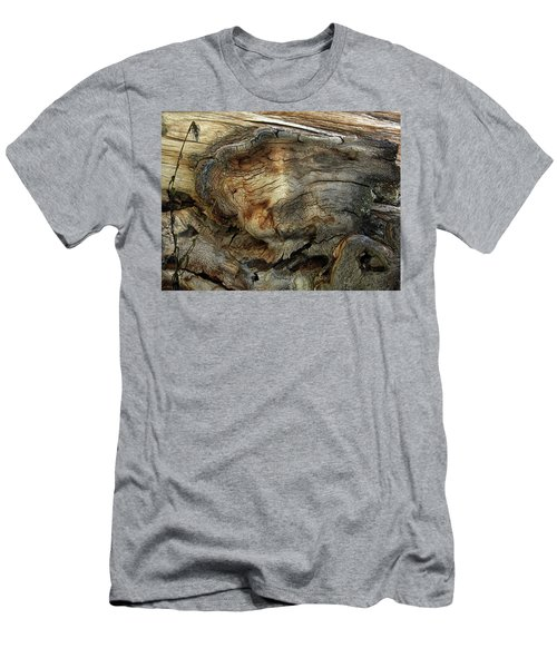 Men's T-Shirt (Slim Fit) featuring the photograph Tree Memories # 36 by Ed Hall