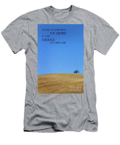 Tree Of Courage Men's T-Shirt (Athletic Fit)