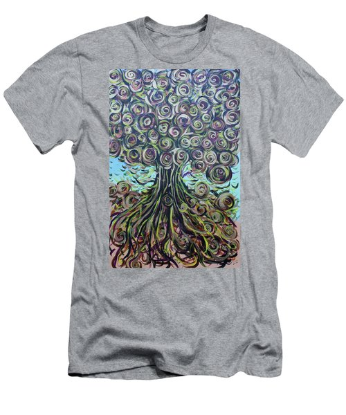 Tree Of Life- Fall Men's T-Shirt (Athletic Fit)
