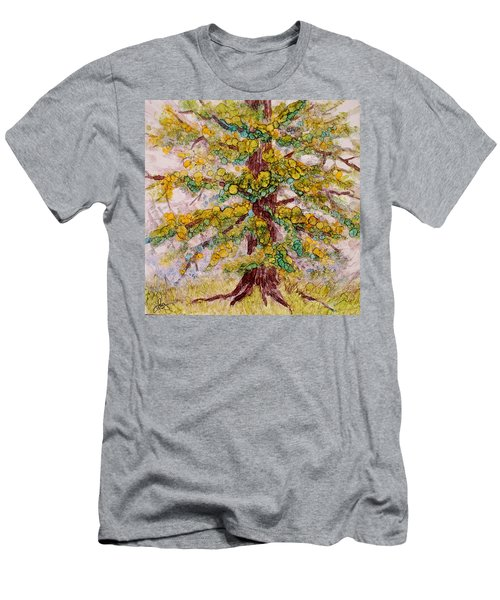 Tree Of Life Men's T-Shirt (Slim Fit) by Joanne Smoley