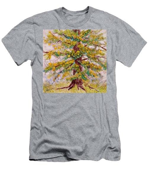 Tree Of Life Men's T-Shirt (Slim Fit) by Joanne Smoley