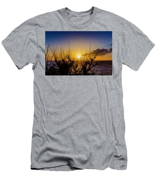 Tree Sunset Men's T-Shirt (Athletic Fit)