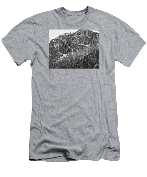 Treefall Men's T-Shirt (Slim Fit) by Lora Lee Chapman