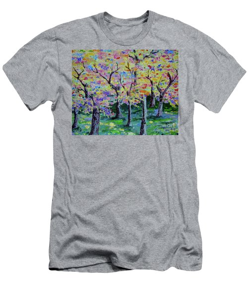 Trees On Hideaway Ct Men's T-Shirt (Athletic Fit)