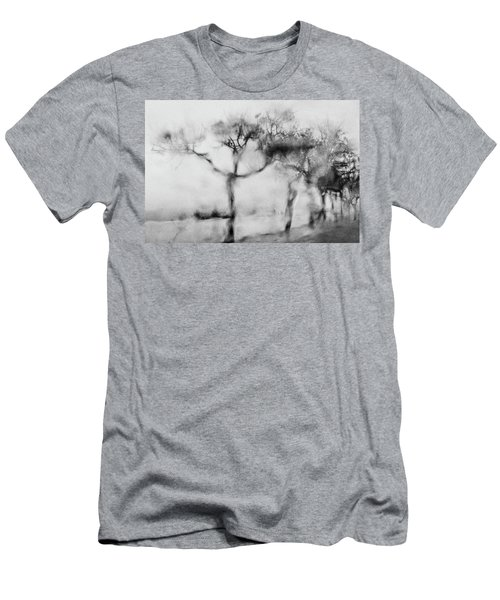 Trees Through The Window Men's T-Shirt (Slim Fit) by Celso Bressan