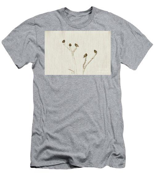 Treetop Starlings Men's T-Shirt (Athletic Fit)