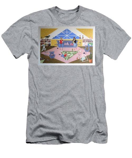 Triangular Life. Family Men's T-Shirt (Athletic Fit)