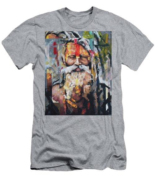 Tribal Chief Sadhu Men's T-Shirt (Slim Fit) by Richard Day