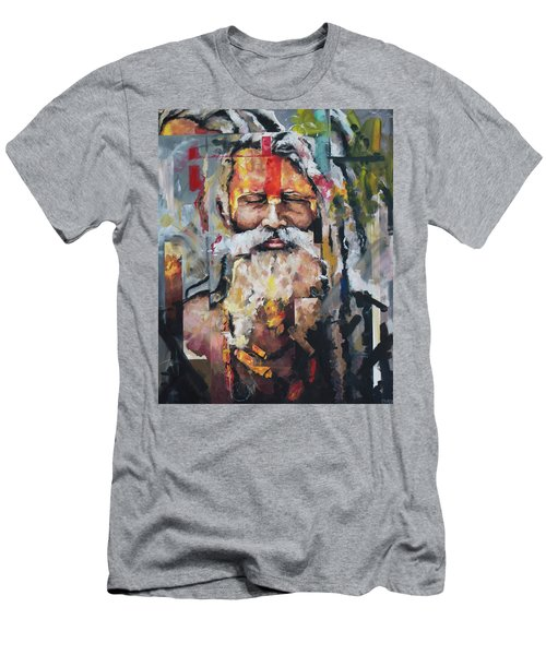 Tribal Chief Sadhu Men's T-Shirt (Athletic Fit)