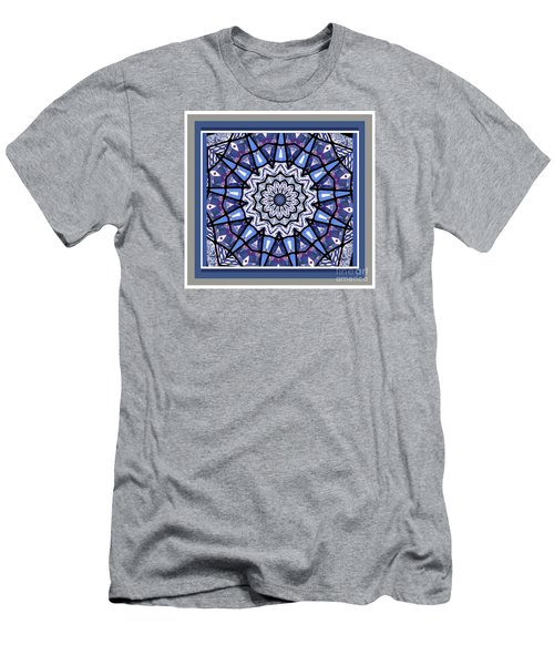 Men's T-Shirt (Slim Fit) featuring the photograph Tribal Star by Shirley Moravec