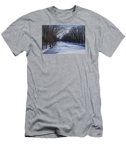Tributary Men's T-Shirt (Slim Fit) by John Gilbert