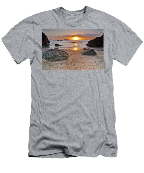 Trinidad State Beach Sunset Men's T-Shirt (Athletic Fit)