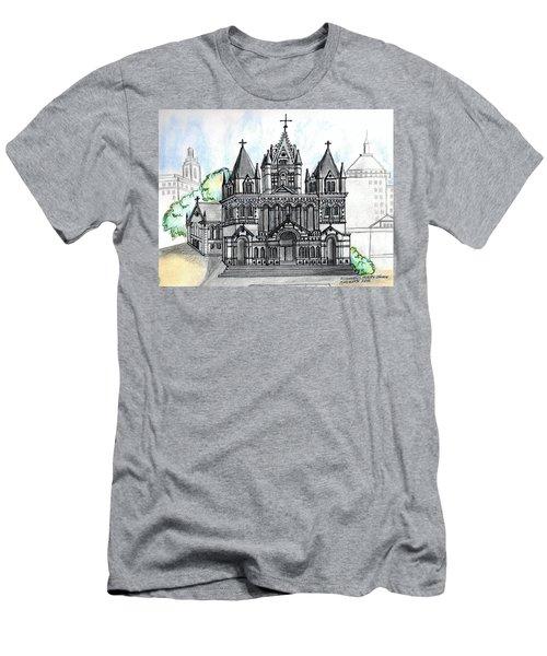 Trinity Church Boston Men's T-Shirt (Slim Fit) by Paul Meinerth