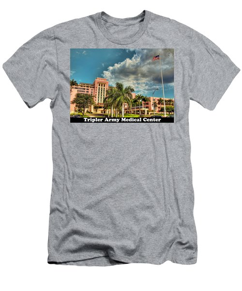 Tripler Card Sample Men's T-Shirt (Athletic Fit)
