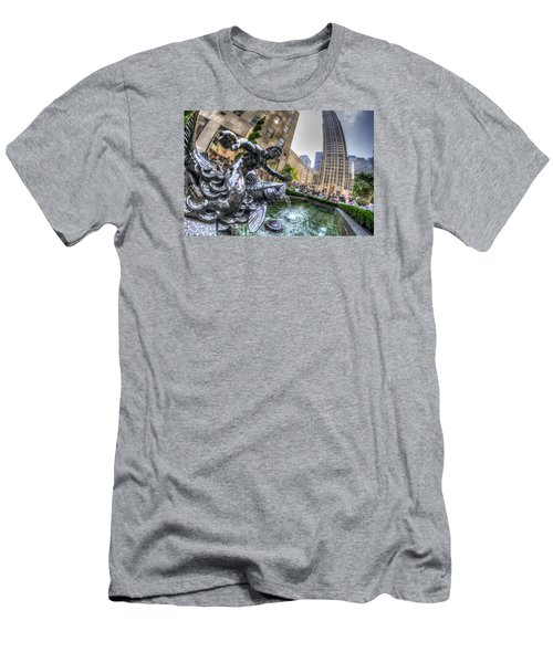 Men's T-Shirt (Slim Fit) featuring the photograph Triton by Rafael Quirindongo