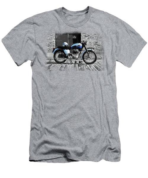 Triumph Bonneville T120 Men's T-Shirt (Slim Fit) by Mark Rogan