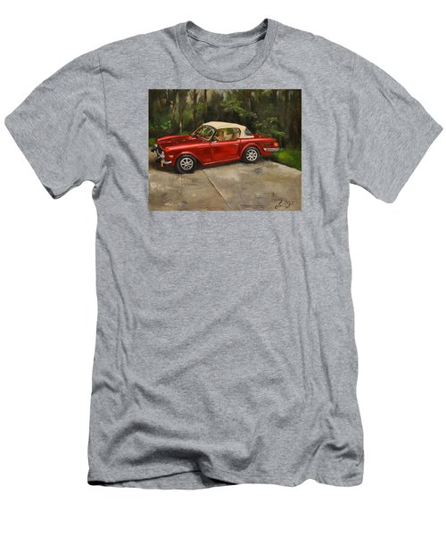 Men's T-Shirt (Slim Fit) featuring the painting Triumph by Lindsay Frost